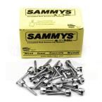 Sammy 3 8 In X 2 1 2 In Vertical Rod Anchor Super Screw 3 8 In Threaded Rod Fitting For Wood 25 Pack 8009925 Wood Steel Steel Rod Forged Steel