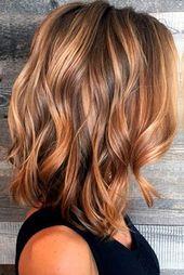 20+ Strand gewellte Frisuren für mittellanges Haar