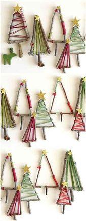 11 atemberaubende DIY Weihnachtsdekoration, die Sie über #christmasdecorations