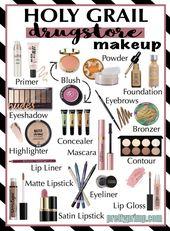 Holy Grail Drugstore Make-up: Das beste Make-up für Drogerien aus dem Jahr 2018   – Makeup