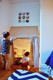 25 DIY Spielhäuser