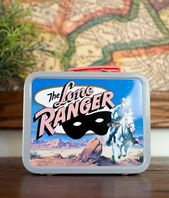 Vintage Lone Ranger Lunch Box Cheerios Vintage Lone Ranger Lunch