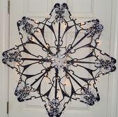 Suzy Homefaker: Snowflake Hanger Tutorial (Dollar …