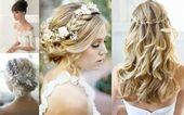 Bruidskapsels voor lang haar – 45 prachtige ideeën –  – Haarstijlen opgestoken …