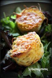 Keskonmangemaman?: Pâtes et basta du foodista, nid de capellini gratiné au …   – Mes Recettes de Pâtes Italiennes