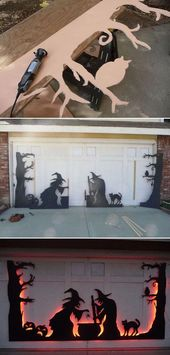 20 Cool DIY Halloween Projects Will Give Your Gues…