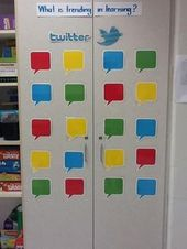 What is Trending in Learning? – Twitter Themed Back-to-School Bulletin Board