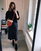 32 idées de tenues minimalistes pour l'automne 2019   – Clothes & Hair