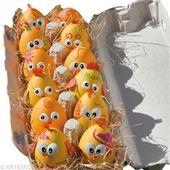 Oeufs de Pâques Poussin jaune – Idées conseils et tuto Pâques