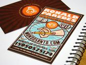 Illustrator Business Card By: Ronald Paredes  A business card for a graphic designer.