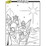 Coloring Pages Crayola Christmas