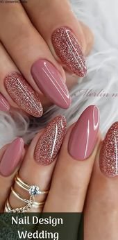 25 Crazy Nail Design Wedding To Match With Your Ou…