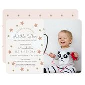 Baby Showers Twinkle Twinkle Twinkle Little Star Photo Birthday