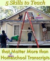 5 Expertise to Educate that Matter Greater than Homeschool Transcripts