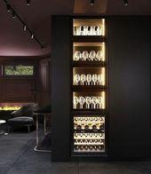 #Home #Decor / 25+ Cool At Home Bar Ideen zum Kopi…