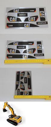 Huina 1580 580 Cat Stickers