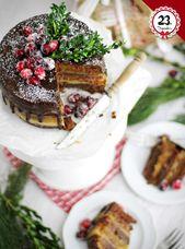Blogging under the mistletoe: Dominostein-Torte