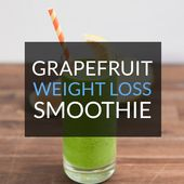 Grapefruit Weight Loss Smoothie Recipe
