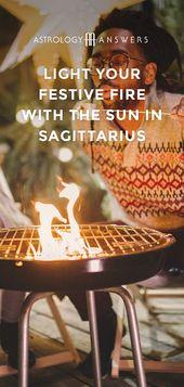 Light Your Festive Fire with the Sun in Sagittarius