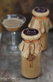 Hausgemachte Espresso Likör {Rezept} & Verpackungsidee   – Einladung Hochzeit