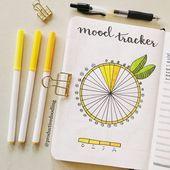bujo mood tracker!! – #Bujo #dibujo #Mood #Tracker
