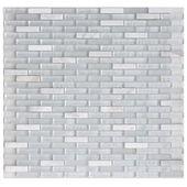 Mosaique Sol Et Mur Fusion Ideo Blanc 4 X 1 Cm Sol Et Mur Sol Mur