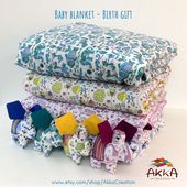 Baby blanket made of soft cotton   – Akka Creation Global