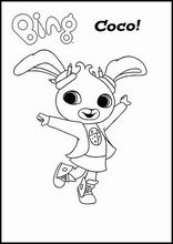 Coloring Book Colouringbing Bunny7 Bing Bunny Bunny Coloring Pages Coloring Sheets