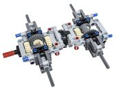 LEGO Technic Bautipp – Mehrachsdifferentiale   – Lego Ideen