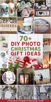 70 Considerate DIY Photograph Christmas Presents