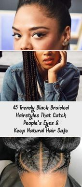 Wonderful Photos Trendy Black Braided Hairstyles That Catch People's Eyes And …