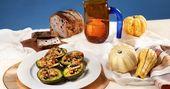 Gebackene gefüllte Avocados sind unsere Lieblingsmethode, um die Essensreste zum Erntedankfest aufzupeppen   – fun diy
