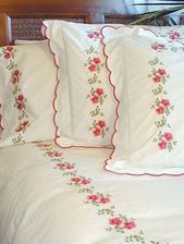 22 Embroidery Bed Sheet Sets Ideas Embroidery Luxury Linen Embroidery Designs