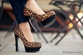 Tacones Altos 2017 Mujeres y Tendencias!   – Zapatos