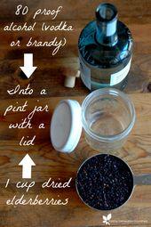 How To Make Elderberry Tincture - Raising Generation Nourished 1