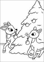 Ausmalbilder Rudolph Mit Der Roten Nase8 Weihnachtsmalvorlagen Herbst Ausmalvorlagen Weihnachtsbaum Bilder