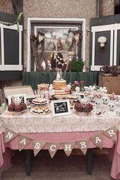 Colorida boda vintage de Sarah Bel Photography   – Candybar