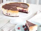 Black Forest meets New York: Black Forest Cheesecake