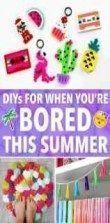 DIY-Projekte für Teenager-Mädchen basteln Spaß Raumdekor 27 Ideen #diy #roomdecor #deco …