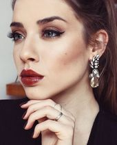 Glück-Statement-Ohrringe – #fashion #style #fashionista #chic #faceofthay – Damenschmuck blog
