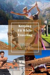 Tips On How To Stay Fit While Living Full Time In A Travel Trailer Use Your Surroundings To Stay In Shape Fulltimervliving Stay Fit Stay In Shape Fitness