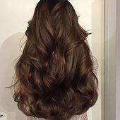 Clip in Top Mono Topper Haarteile Toupet Echthaar Schokoladenbraun # 4 (# 4