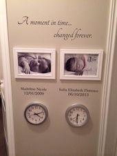 Family Wall Decal – Ein Moment in der Zeit für immer verändert mit einer Reihe von Namen und Daten – Family Room Decor – Wallapalooza Wall Decals – Wall Art