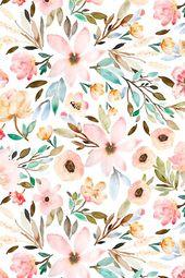 Fleurs aquarelle