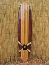 Surfboard Wall Art / Hawaiian Art / Surf Art / Surfer Decor / | Etsy   – Surfboard wall art