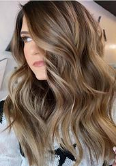 Stunning 20 Awesome Balayage Hair Color Ideas For 2019 #brunettebalayagehair #br…