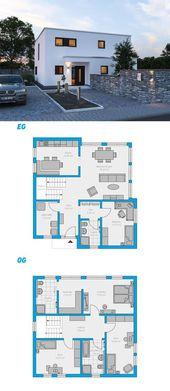 Alea 168 – schlüsselfertiges Massivhaus 2-geschos…