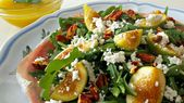 Arugula Fig Salad, recipes, salads, honey lemon dressing – Food