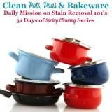 Cleaning Pots Pans Bakeware Cookware Tips Home Remedies In 2020 Spring Cleaning Cleaning Clean Pots