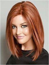 Stilvolle süße gewellte Frisur Frauen Schulter-Länge-Bob- #CurvyHairIdeas Besuchen Sie uns bei DisconnectedHair für weitere tolle Ideen ..